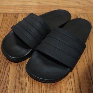 Adidas Adilette Comfort Slides sz 7 Mens / 8.5 Wom